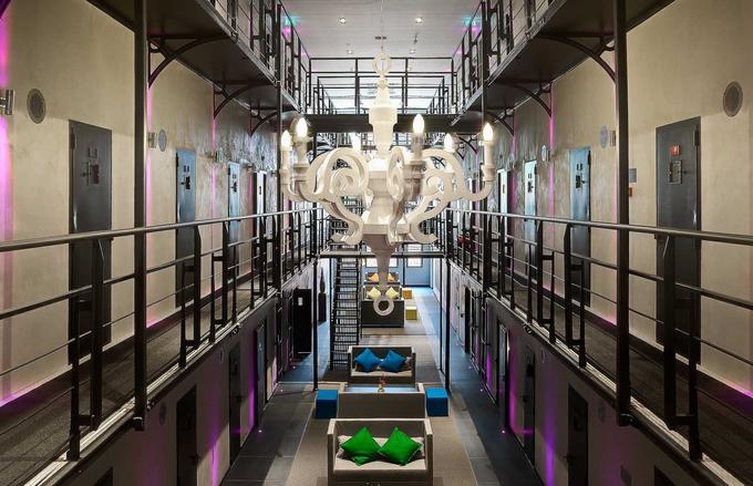 Nhà tù Hà Lan thành khách sạn sang trọng vì thiếu tù nhân