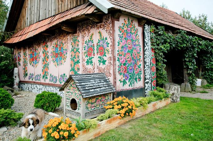Zalipie - Ngôi làng rực rỡ sắc hoa ở Balan.2