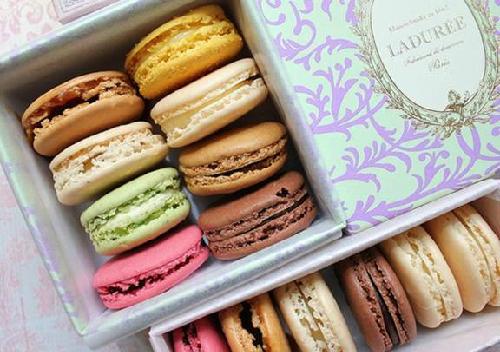 Macaron là một ý tưởng tuyệt vời khi bạn muốn tặng quà cho những người thân yêu. Ảnh: whoolygoat.