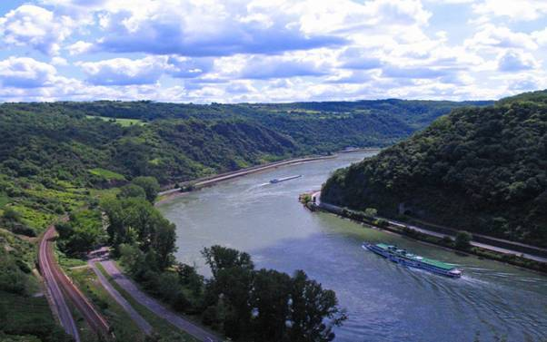 5 dòng sông chính của châu Âu