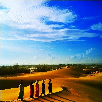 Du Lịch Ninh Thuận: Đồi cát Nam Cương