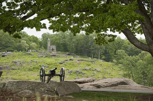 Chiến trường Gettysburg - nơi diễn ra trận chiến đẫm máu và tang thương nhất lịch sử nước Mỹ.