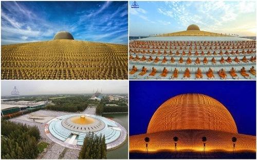 Điện thờ 1 triệu tượng Phật vàng kỳ lạ ở Thái Lan