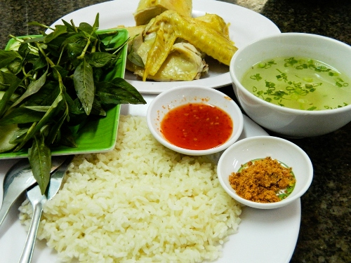 Cơm gà Phan Giang