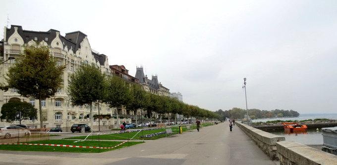 Ngày mưa đáng nhớ ở thành phố Geneva