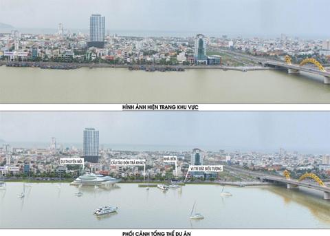Đà Nẵng đã xác định quy hoạch không gian đô thị phải hướng mặt tiền ra sông, ra biển để tạo không gian tốt cho kinh tế phát triển.