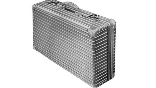 Chiếc vali nhôm với những rãnh sang trọng. Ảnh: Foxnews.