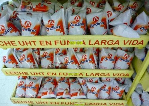 Những túi đồ uống được đông đảo người dân sử dụng tại Brazil