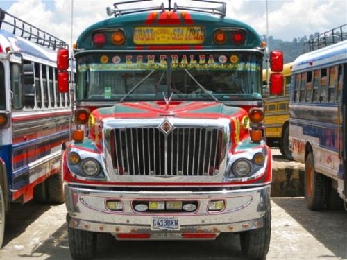 Những chiếc xe buýt độc đáo tại Brazil