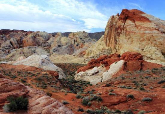 Công viên thung lũng lửa, Nevada