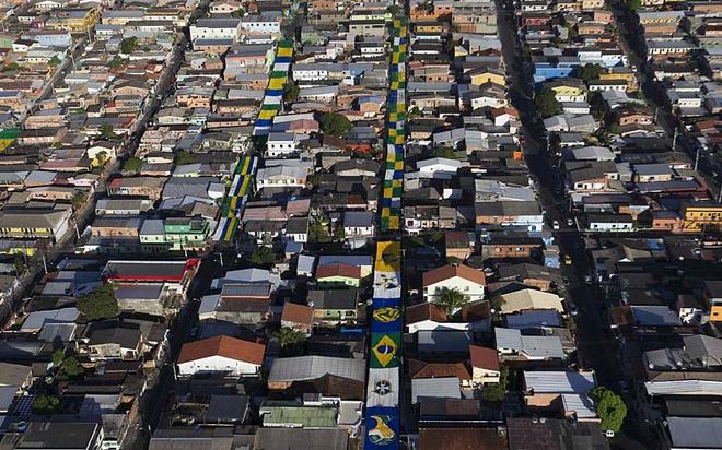 Ngắm nhìn Brazil những ngày cận kề World Cup 2014
