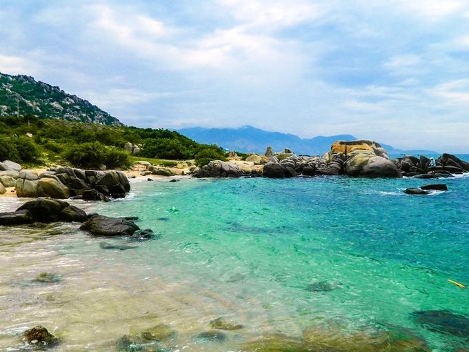 Trải nghiệm mùa hè ở biển xanh Cà Ná