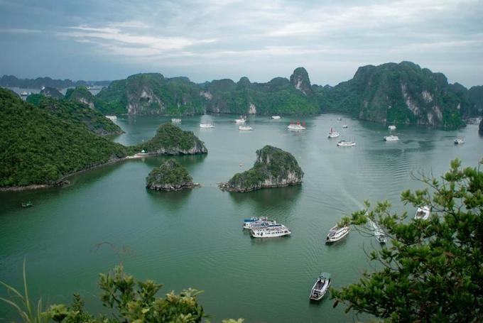 Kiệt tác đá vôi giữa lòng vịnh Hạ Long