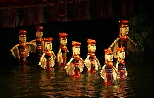xem múa rối nước