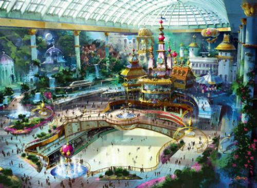 Hàng giờ vui chơi tại công viên giải trí trong nhà lớn nhất thế giới Lotte World sẽ là kỉ niệm thú vị khó quên.