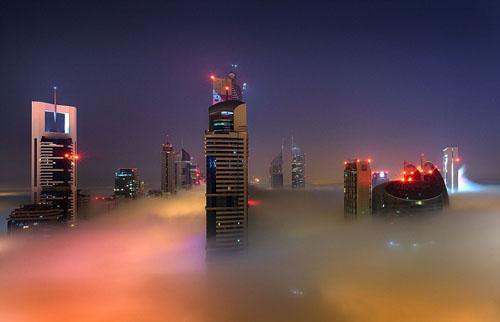 Cảnh bồng lai trên những tòa tháp ở Dubai icon