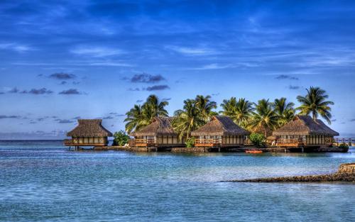 Maldives Resorts 1920x1200 5030 1412241414 Biển rác khổng lồ tại Maldives