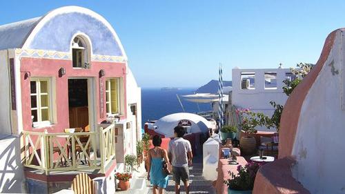 6 2061 1412391729 Những mảng màu quyến rũ ở Santorini