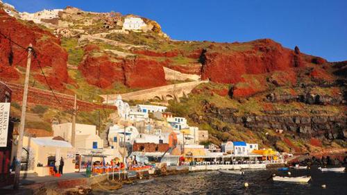 8 5110 1412391730 Những mảng màu quyến rũ ở Santorini