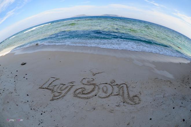 Vẻ đẹp lãng mạn tại biển đảo Lý Sơn
