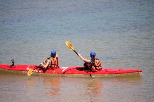 Nhung diem du lich cho nguoi me kayak