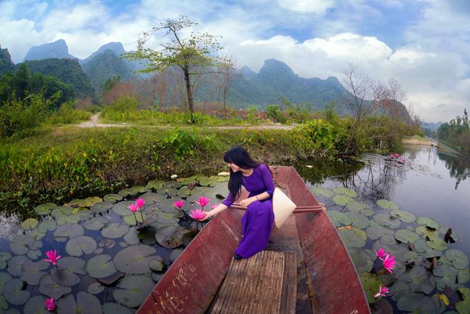 Suối Yến mùa nước nở hoa