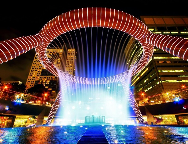 Những đài phun nước đẹp nhất thế giới