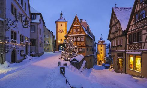 Những điểm đến mùa đông đẹp hơn nơi ở của Bà Chúa Tuyết