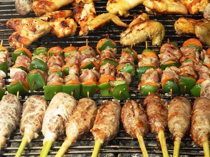 Món ngon các nước tại  liên hoan ẩm thực 2014