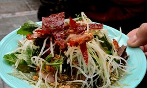 Quà vặt ngon, rẻ từ thịt bò ở Hà Nội