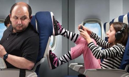 tính cách du khách qua cách chọn chỗ trên máy bay
