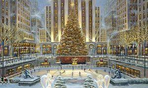 New York rực rỡ trong không khí Giáng sinh