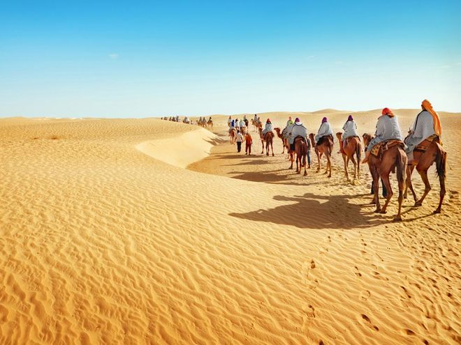 Anh 3 sahara desert 1421291124 660x0 Khám phá những thiên đường mua sắm cuối năm tại Châu Á