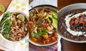 10 món súp nhắc đến là thèm trên thế giới