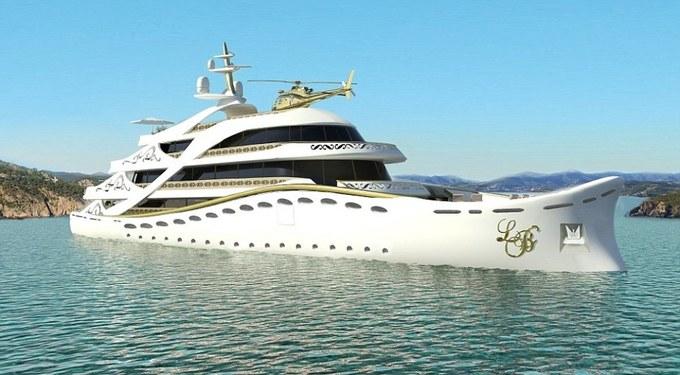 Du thuyền dát vàng dành cho phái đẹp
