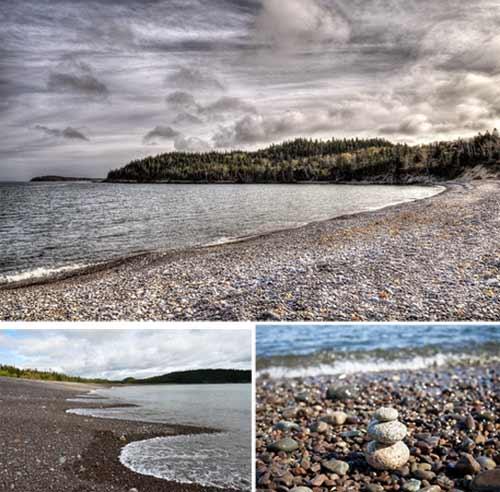 Những bờ biển không cát đẹp mê hồn
