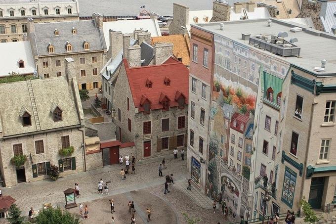 Thành phố của những bức tranh tường đánh lừa thị giác