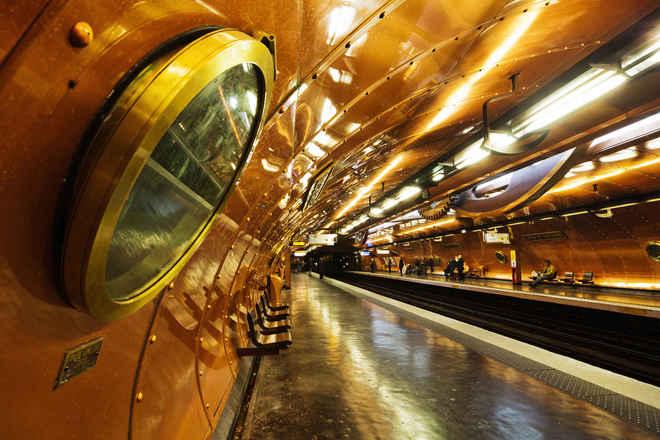 10 ga tàu điện ngầm khó quên nhất thế giới