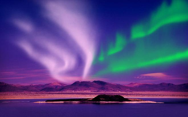 Cực quang phương Bắc, Ireland