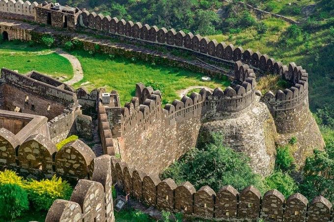 Kumbhalgarh - Vạn Lý Trường Thành của Ấn Độ