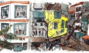 Hà Nội trong mắt chàng họa sĩ Singapore