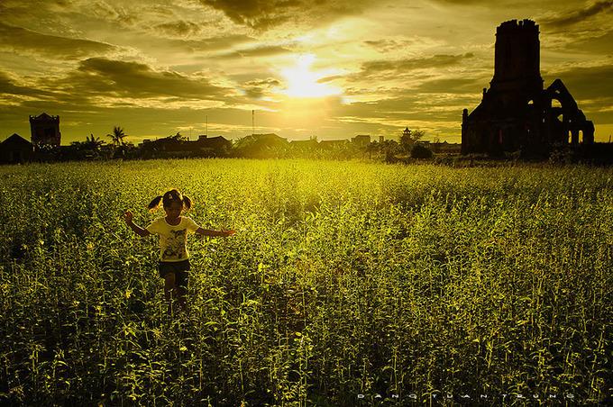 Nam Định - Đến đây, du khách không khó bắt gặp những tháp chuông nhà thờ nổi bật giữa khung cảnh yên bình.