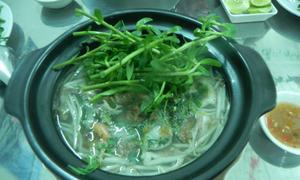 Bún cá thố cho buổi chiều Sài Gòn