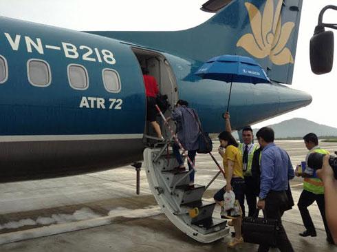 Mỗi chuyến bay, Vietravel bao 40 chỗ, số ghế còn lại được mở bán rộng rãi. Ảnh: VOV.
