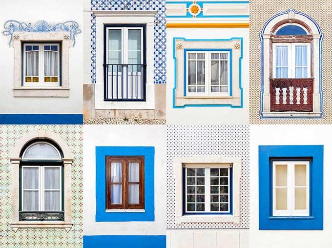 Vẻ đẹp của các ô cửa sổ ở châu Âu