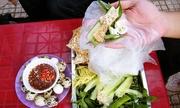 Bánh tráng chấm mắm ruốc Phan Thiết