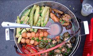 Khổ qua cà ớt - món ưa chuộng của khu người Hoa ở Sài Gòn