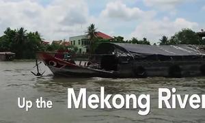 Hành trình khám phá sông Mekong trên báo Singapore