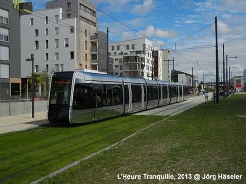 Xe điện ở Pháp  Vào năm 1980 chỉ có 3 đường xe điện tồn tại trên thế giới . Ngày nay riêng ở Pháp có tới 22 thành phố có đường xe điện và 7 đường xe điện khác sẽ đi vào hoạt động trong năm 2016. Ảnh: urbanrail