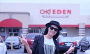 Hoa hậu Ngọc Hân thích đi 'chợ trời' ở Mỹ